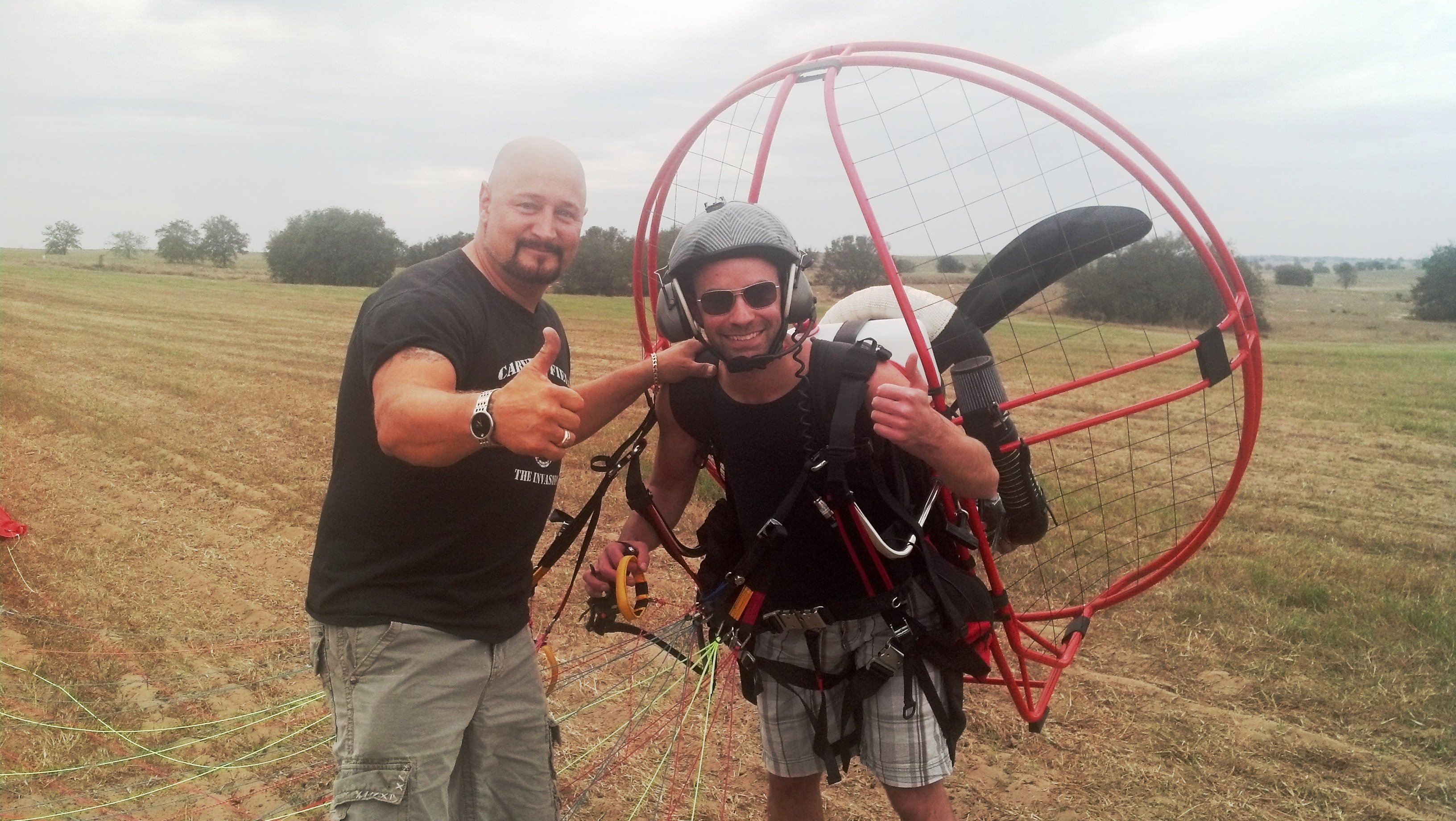 Pictures Of Students Flight Junkies Powered Paragliding