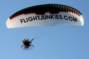 Flight Junkies Paraglider - about flightjunkies