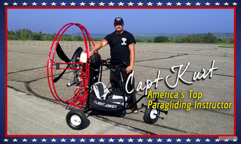 FLIGHTJUNKIES Powered Paragliding Free Training in All 50 states